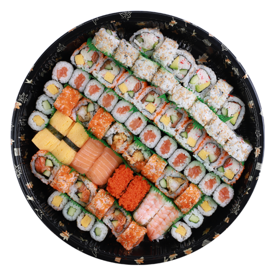 Ajisai Assorted Sushi Tray (Tray C), 1500g