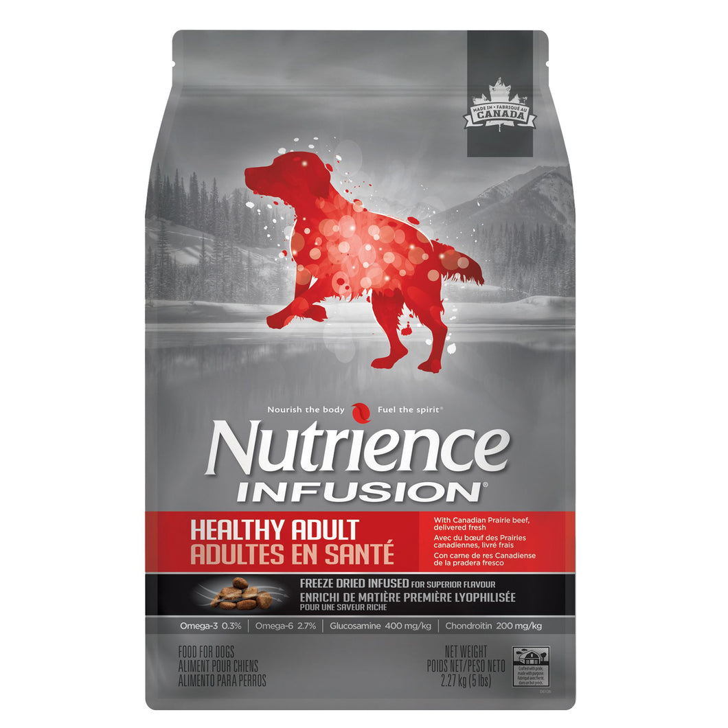 Nutrience Infusion Healthy Adult Dog Food - Beef