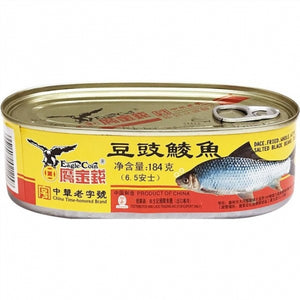 Eagel Coin Fried Dace with Salted Beans, 184g