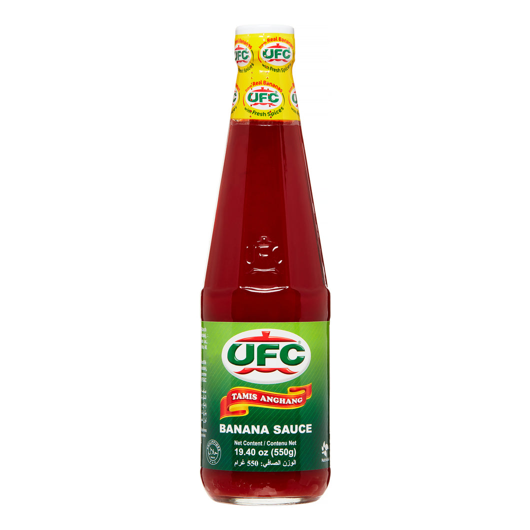UFC regular Banana sauce 550 g