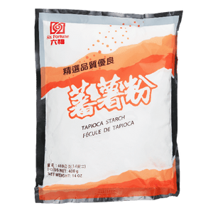 Six Fortune Tapioca Starch, 400g