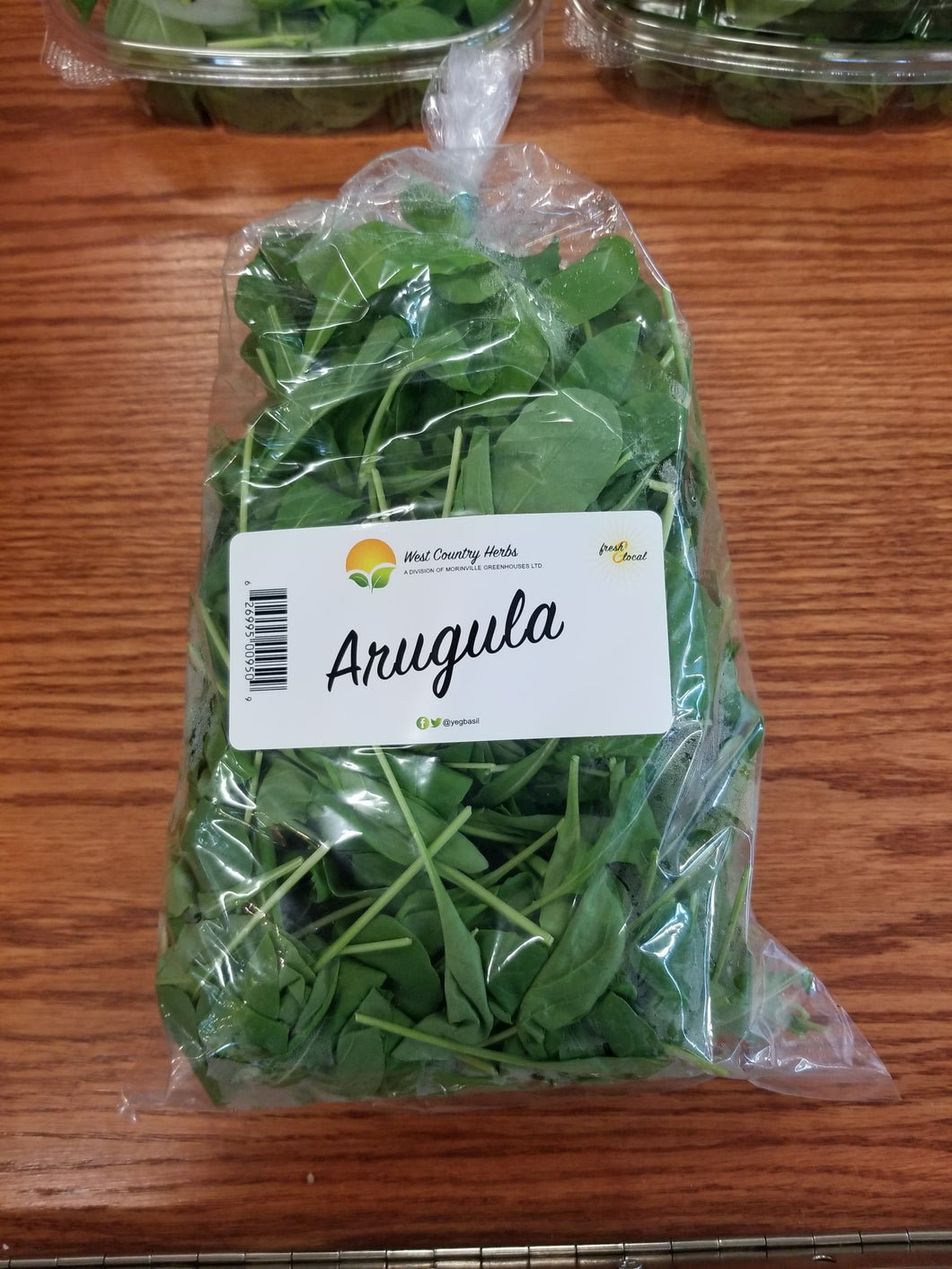 Organic West Country Herbs Arugula