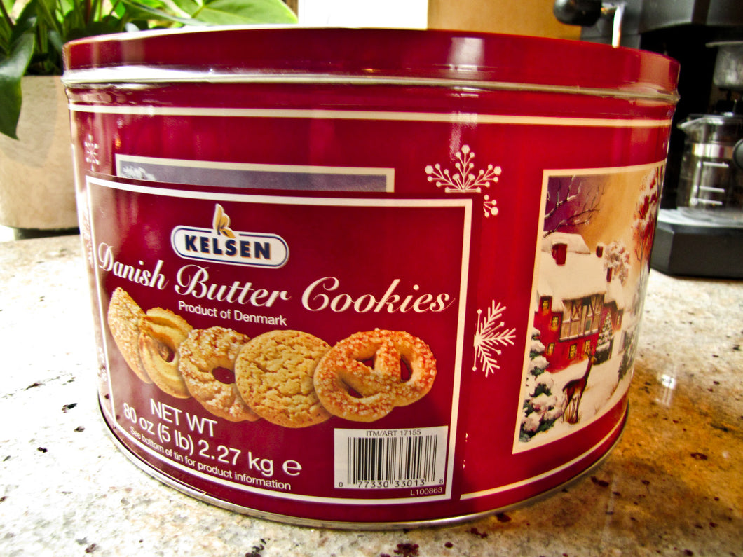 Kelsen Danish Butter Cookies 908 g