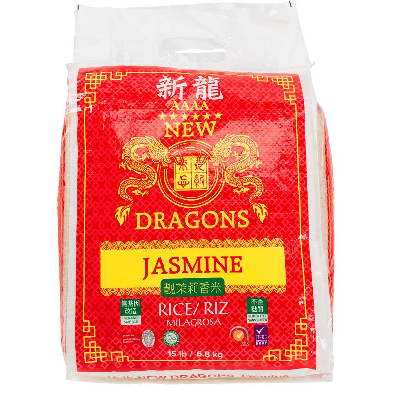 Dragon's Jasmine Rice 40 lbs