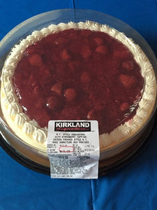 Kirkland Signature New York Style Cheesecake With Strawberry Topping 1.740 kg