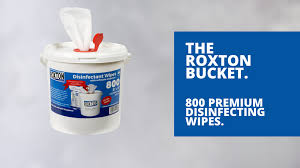 Roxton Disinfectant 800 Wipes / Buckets