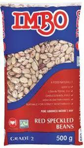 Imbo Red Speckled Beans - 500g