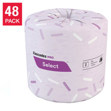 Load image into Gallery viewer, Cascades Pro Select 2-ply Bathroom Tissue 48x420 sheets