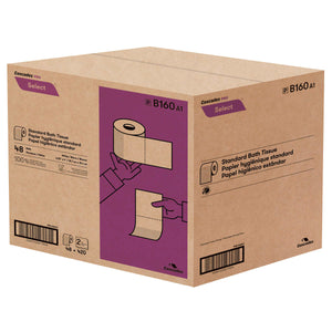 Cascades Pro Select 2-ply Bathroom Tissue 48x420 sheets