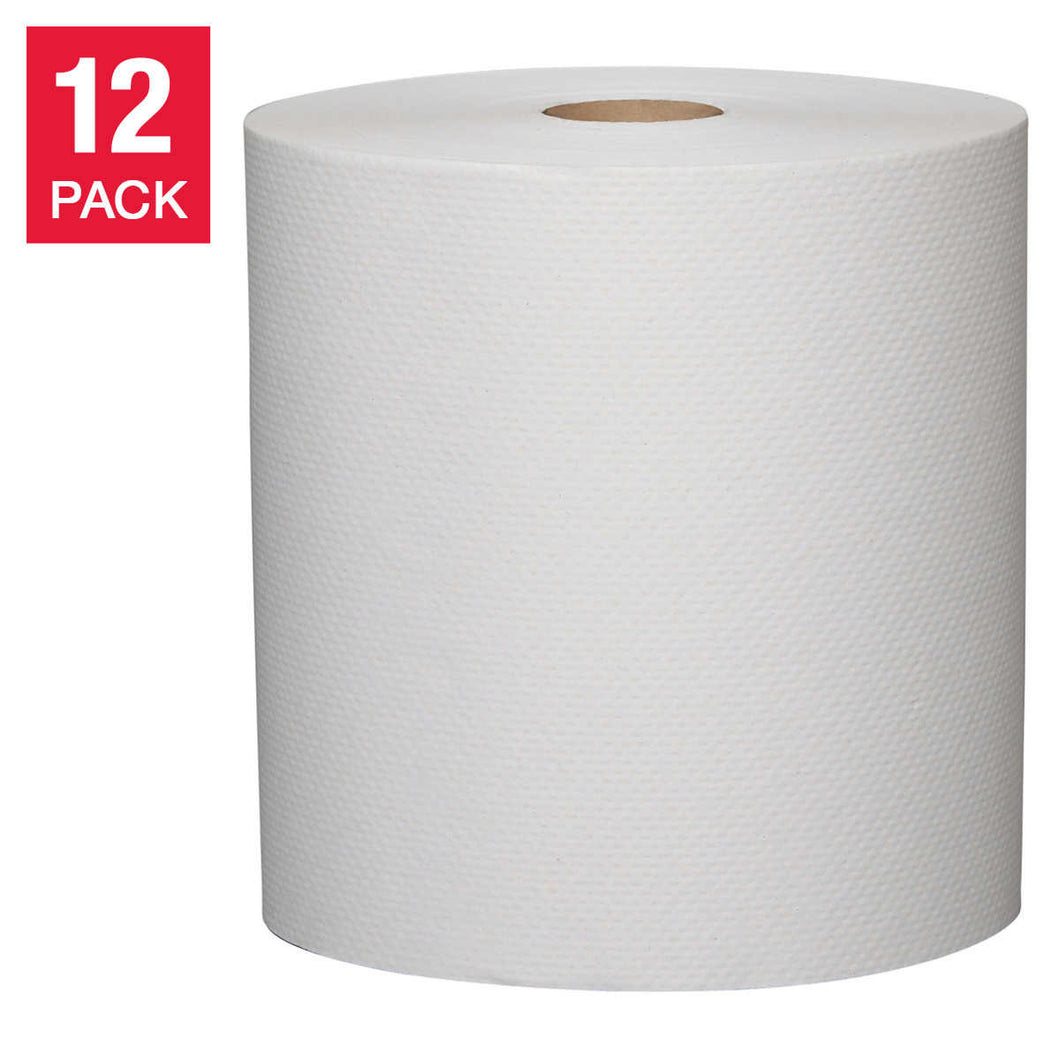 Metro Kraft 20.3 cm x 128 m (8 in. x 420 ft.) White Paper Towel Rolls