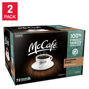 McCafe Premium Roast Coffee K-Cup Pods, 2-pack