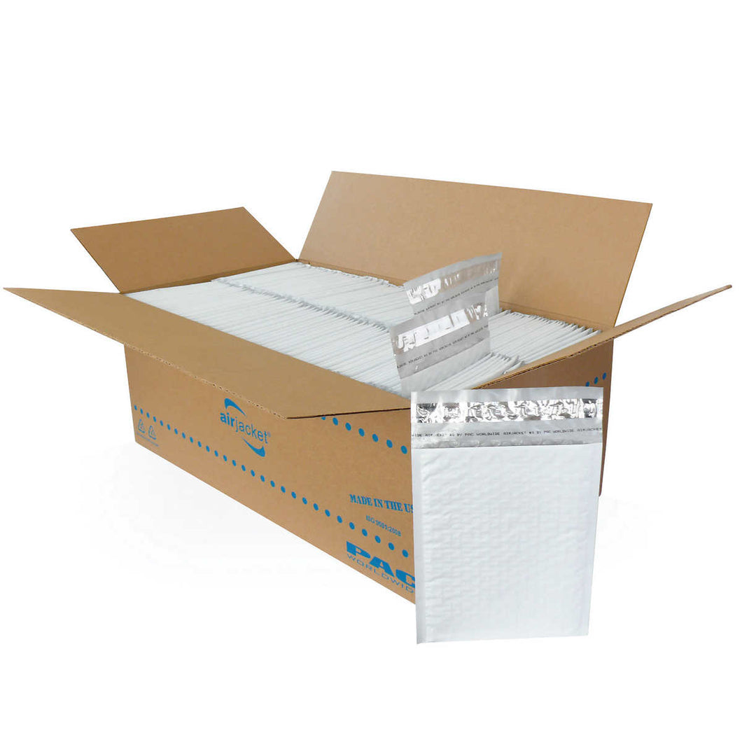Crownhill Packaging No. 0 Poly Bubble Mailers Bulk Carton 250 pack