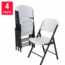 Load image into Gallery viewer, Lifetime Commercial Folding Chairs, 4-pack