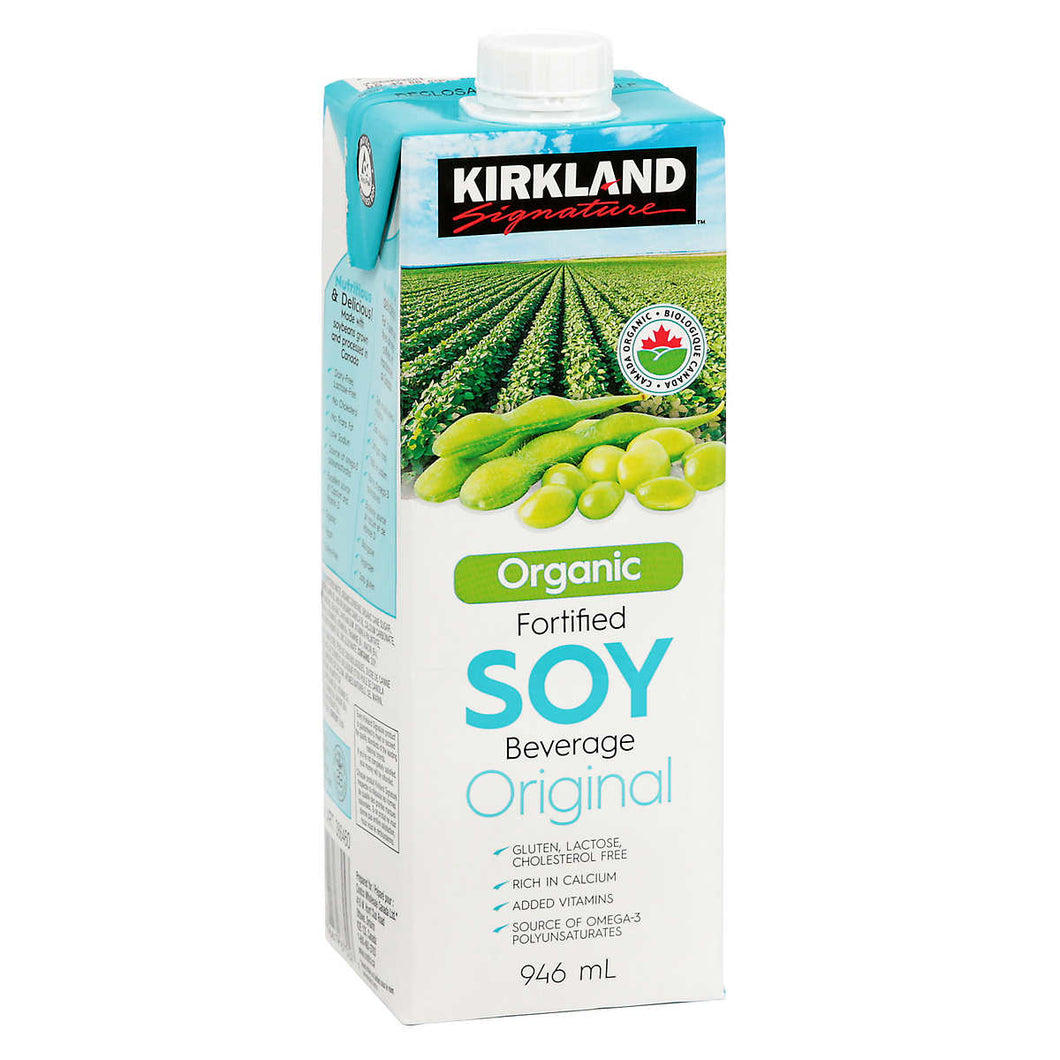 Kirkland Signature Organic Soy Beverage, 946 mL, 6-count