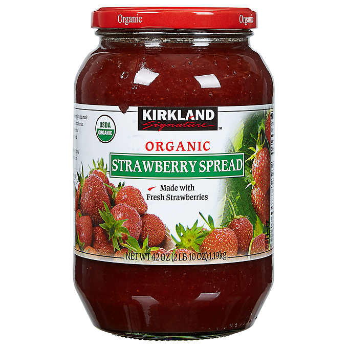 Kirkland Signature Organic Strawberry Spread, 42 oz