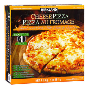 Kirkland Signature Frozen Cheese Pizza Pack of 4