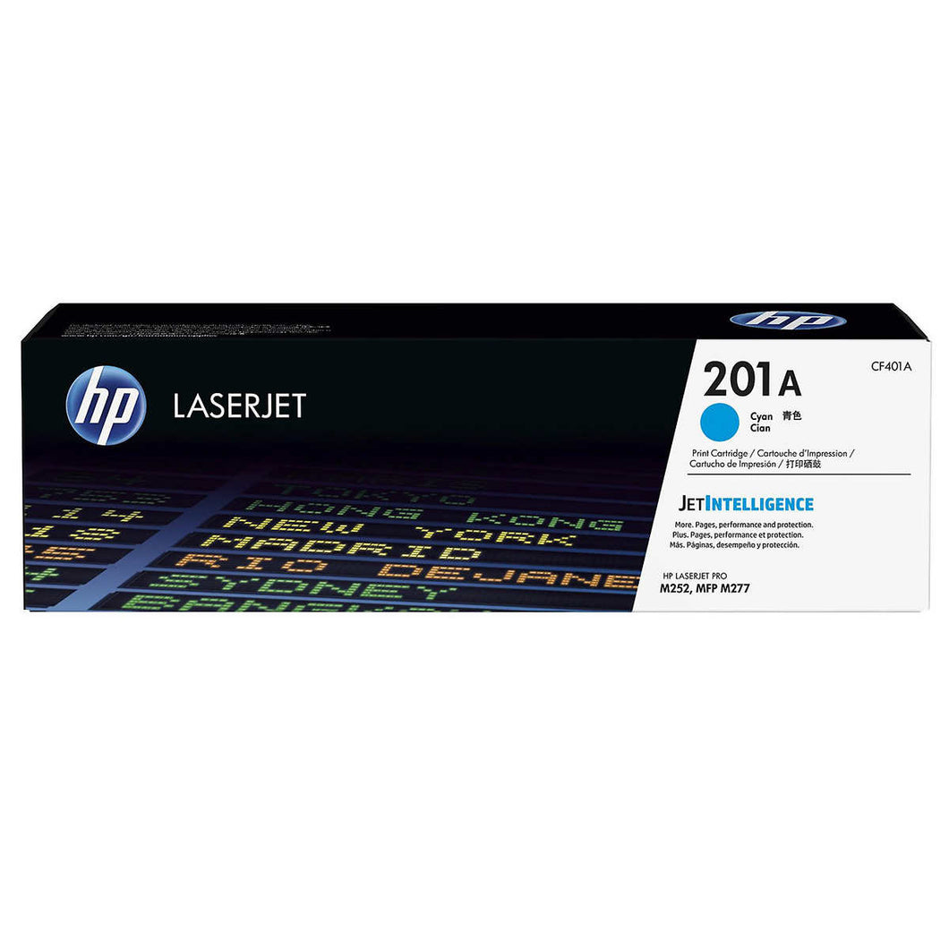 HP 201A (CF401A) Cyan Original LaserJet Toner Cartridge