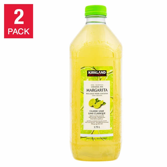 Kirkland Signature Margarita Cocktail Mix, 2-pack 1.75 L per Bottle