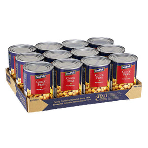 Nupak Chick Peas 12 × 540 mL