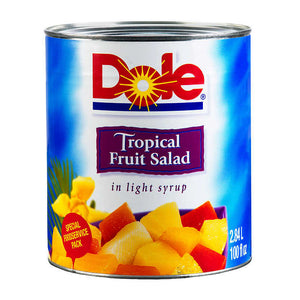 Dole Tropical Fruit Salad in Light Syrup 2.84 L