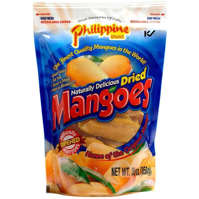 Phillippine Dried Mangoes 850 g