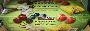 Kirkland Signature probiotic Yogurt 24x 100 g