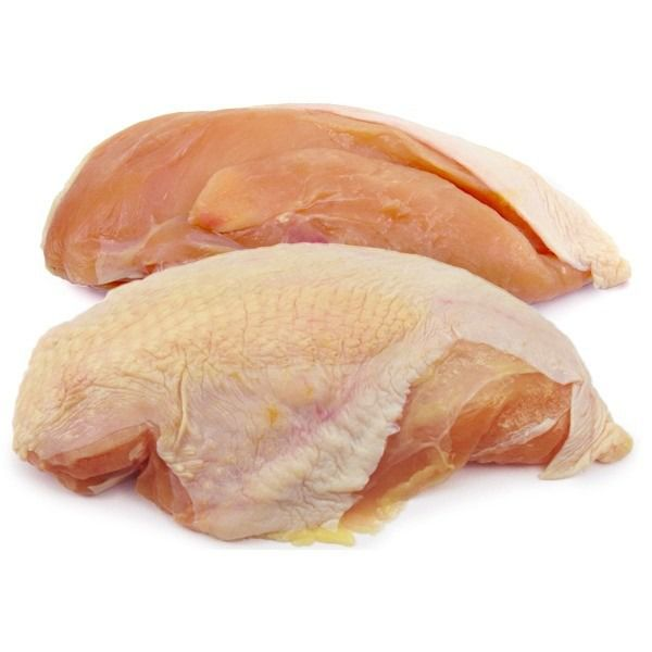 Skin on Bone in Chicken Breast