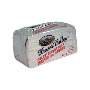 Fraser Valley Unsalted Butter 454 g