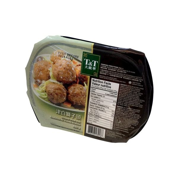 T&T Mc Stewed Pork Balls With Chinese Cabba 680 g