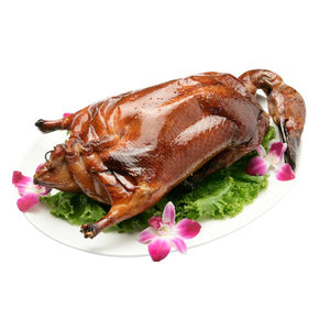 Barbecued Whole Duck