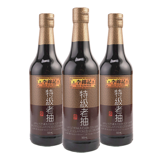 Lee Kum Kee Premium Dark Soy Sauce, 500ml