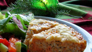 Wild Pacific Salmon Pie 650g, Frozen