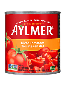 Aylmer Diced Tomatoes ~ 8 x 796 ml