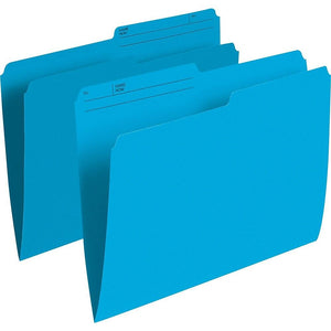 "Staples Coloured File Folders, Letter Size, 8-1/2"" x 11"", Assorted Colours, 100 Pack"