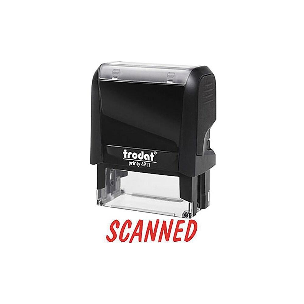 Trodat Printy 4911 Climate Neutral Self-Inking Stamp - SCANNED