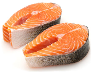 Fresh Atlantic Salmon Steak  1 kg