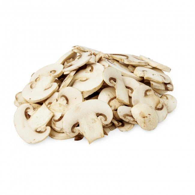 Mushrooms, packaged sliced white 227g