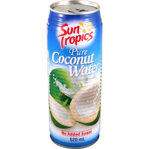 Sun Tropics Coconut Water ~ 12 x 520 ml