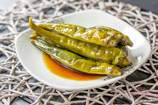 KOREAN GREEN CHILI PEPPER PICKLES