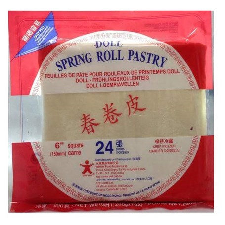 Doll frozen Spring roll wrapper 8.5    400 g