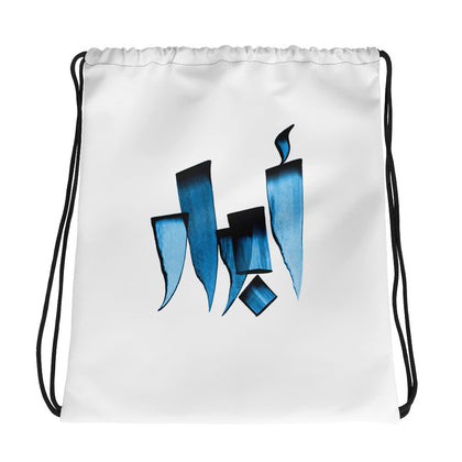 Abrar Blue Drawstring bag