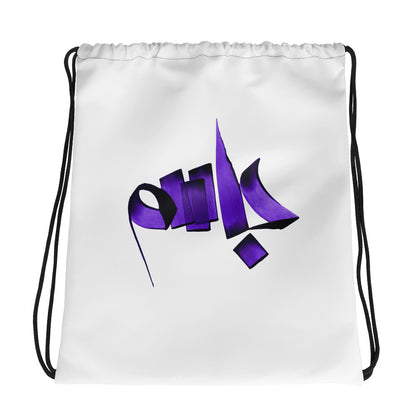 Jasem Purple Drawstring bag