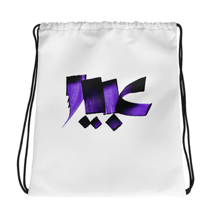 Abeer Purple Drawstring bag