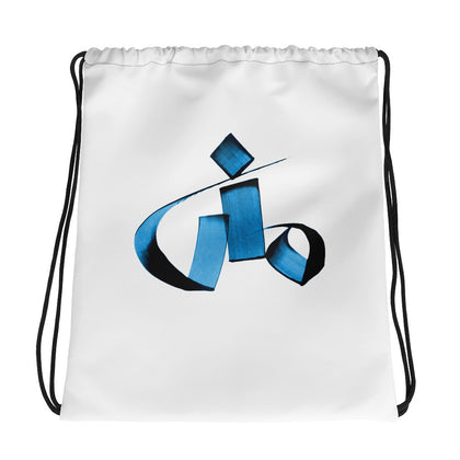 Mona Blue Drawstring bag
