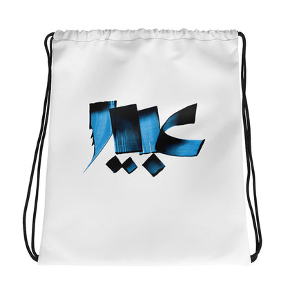 Abeer Blue Drawstring bag
