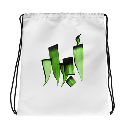 Abrar Green Drawstring bag