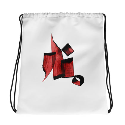 Manar Red Drawstring bag