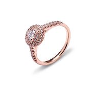 Yes by Martin Binder Rose Gold Round Diamond Engagement Ring (0.55 ct. tw.)