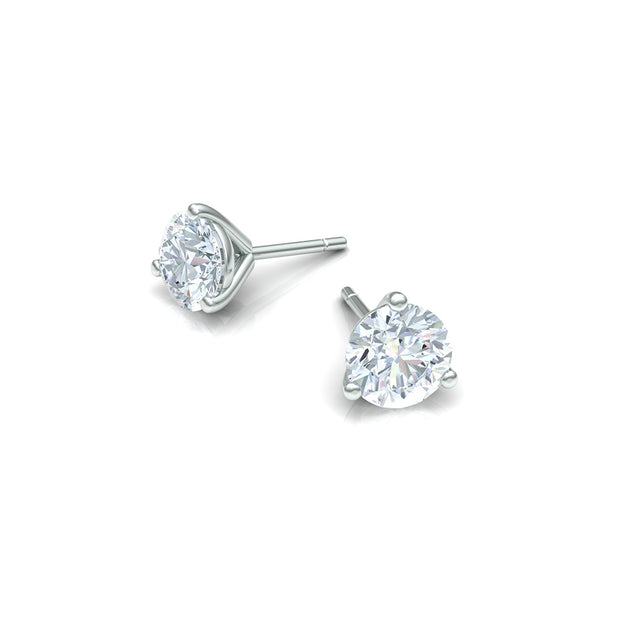 Clara by Martin Binder White Gold Diamond Stud Earrings (4.05 ct. tw.)