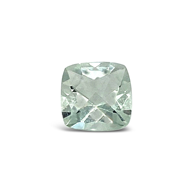 Cushion Cut Green Amethyst Gemstone (7mm)